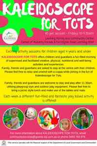 Kaleidoscope for Tots- Activities for toddlers Leeming Melville Area Preview