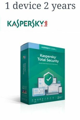 Kaspersky Total Security 2020 1 device 2 years global key