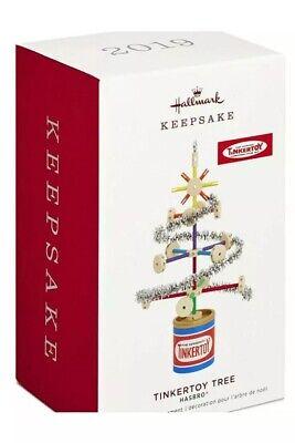 2019 Hallmark TINKERTOY TREE Tensil Toy Hasbro Christmas ORNAMENT