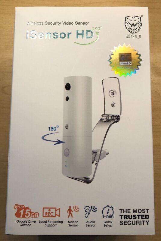 REDUCED - Amaryllo ACC1308E1WKUS iSensor HD Wireless Video Security180°