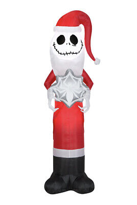 JACK SKELLINGTON Nightmare Before Christmas LED Airblown Inflatable Yard Decor