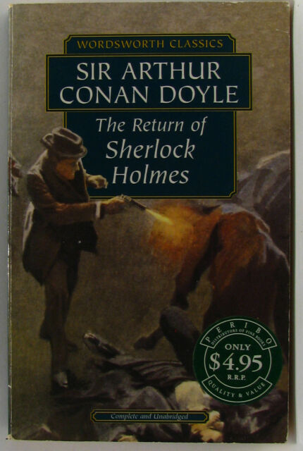 #^W2, Arthur Conan Doyle THE RETURN OF SHERLOCK HOLMES S/cover Postage Fast &...