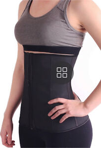 Authentic Waist Trainer (Latex Zip Up in Black) Fairfield Fairfield Area Preview