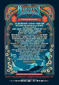 Byron Bay Bluesfest - 2 x Open Single Day Tickets Carlingford The Hills District Preview