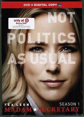 Cbs Madam Secretary  Season One  7 Dvds  2015  New  Target Exclusive Set  Bonus