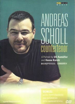Andreas Scholl - Countertenor / Uli Aumüller and Hanne Kaisik DVD for sale  Richmond Hill