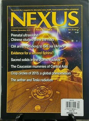 Nexus New Times October November 2015 Alternative News Health Free Shipping Sb