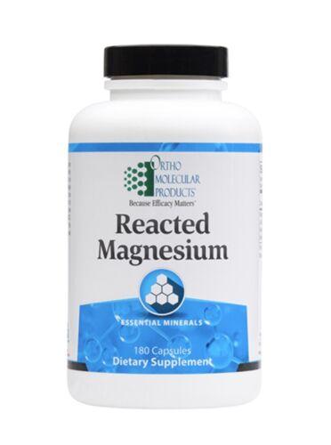 Ortho Molecular Reacted Magnesium 180 Capsules