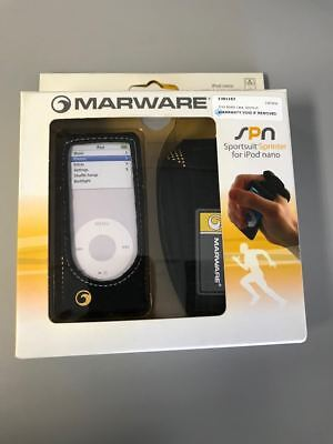 Yellow Marware Running Case for Apple iPod Nano 2nd Gen 2G Sportsuit -