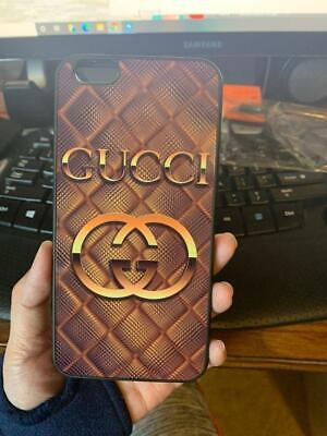 Real Pict Phone Case iPhone 7+ 8 X XR XS Guccy464rCases 11 Pro Max Gold Cover