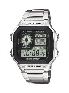 Casio-AE1200WHD-1AV-AE-1200WHD-Men-s-Sport-Digital-World-Time-Watch-New