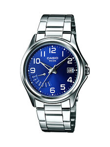 Casio MTP-1369PD-2BVER Collection Silver Steel Bracelet Day Date Display Watch
