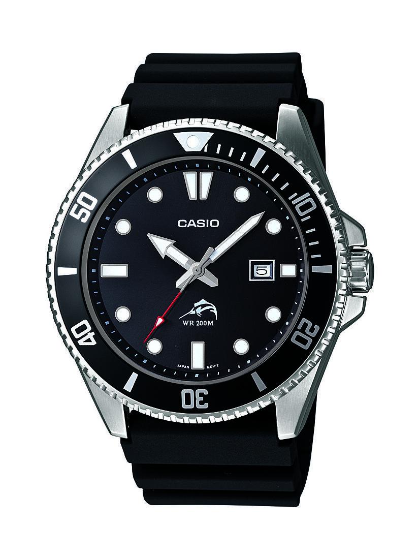 Casio Men's MDV106-1A Rotating Bezel Black Resin Band Diving Watch