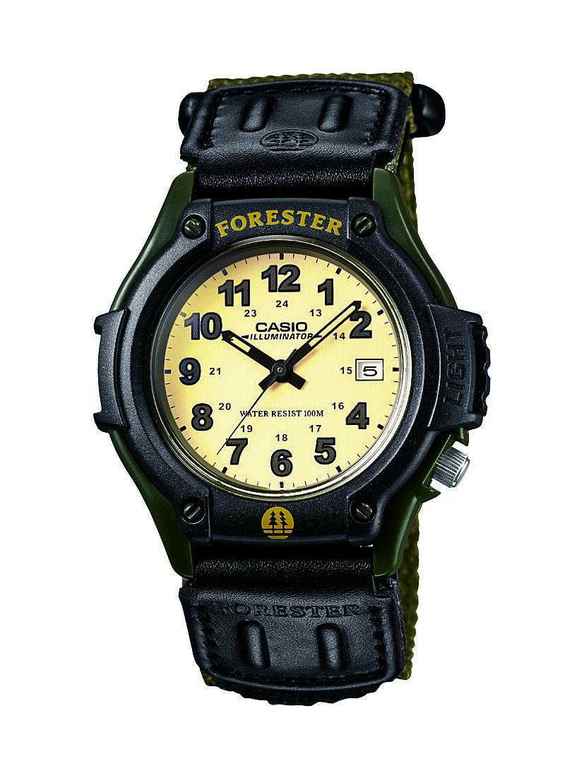 Casio Men's FT500WC-3BV Black Nylon Quartz Watch