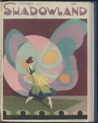 Shadowland Magazine 33 Ultra Rare Issues Art Decco Classics Free Shipping