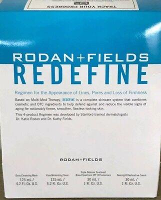 Rodan and Fields REDEFINE Regimen  Loaded Size  FREE SHIPPING sale! Retail 199!