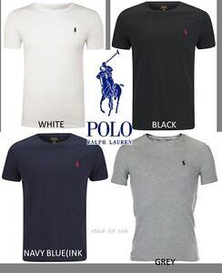 Nuevo-con-etiquetas-para-hombres-mangas-cortas-de-algodon-Ralph-Lauren-Polo-camiseta-Todas-Las