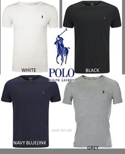 Brand-new-men-039-s-Ralph-Lauren-100-Cotton-Short-Sleeve-Polo-T-Shirt-Sizes-S-XXL
