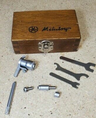 Mitutoyo 141-102 Interchangeable Rod Inside Micrometer Set
