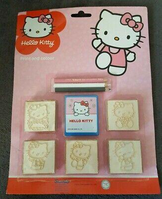 Hello KittyMultiprint Farbset, Stempelset 9-teilig pink