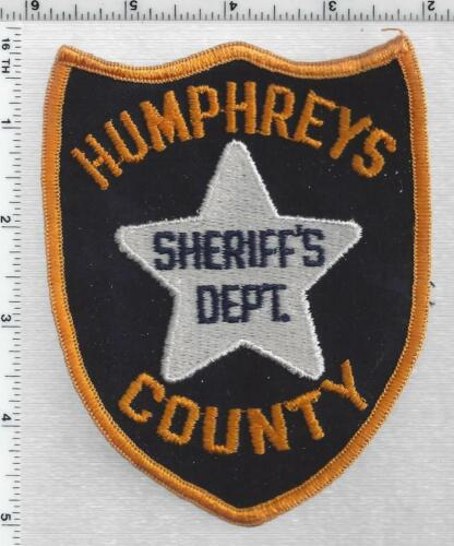 Humphreys County Sheriff (Mississippi) 1st Issue Shoulder Patch