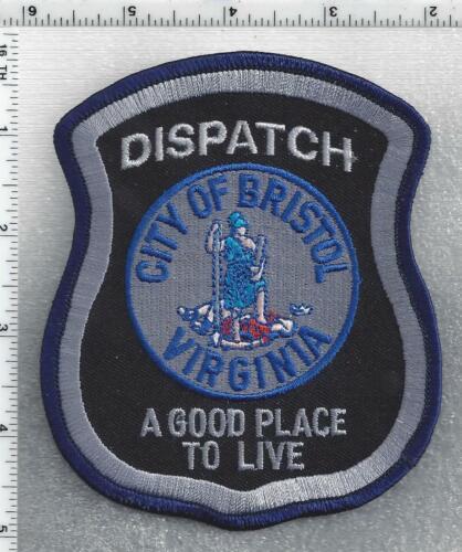 City of Bristol Dispatch  (Virginia) 1st Issue Shoulder Patch