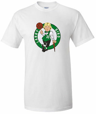 "Larry Bird Boston Celtics ""LOGO"" jersey T-shirt Youth & Adult Sizes S-5XL"