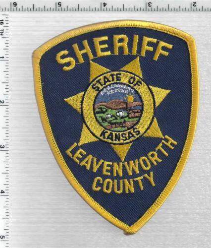 Leavenworth County Sheriff (Kansas) 2nd Issue Shoulder Patch