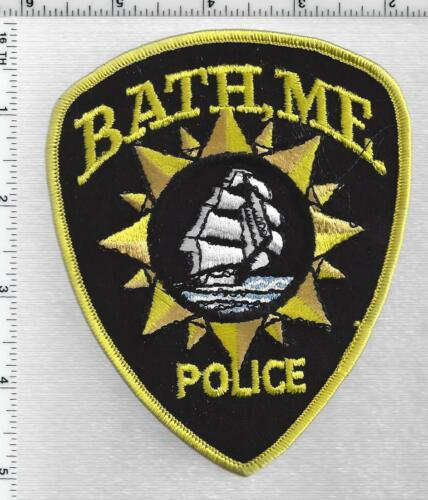 Bath Police (Maine) 3rd Issue Shoulder Patch