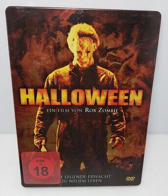 DVD Halloween - Eine Legende erwacht zum Neuen Leben - Steelbook FSK 18