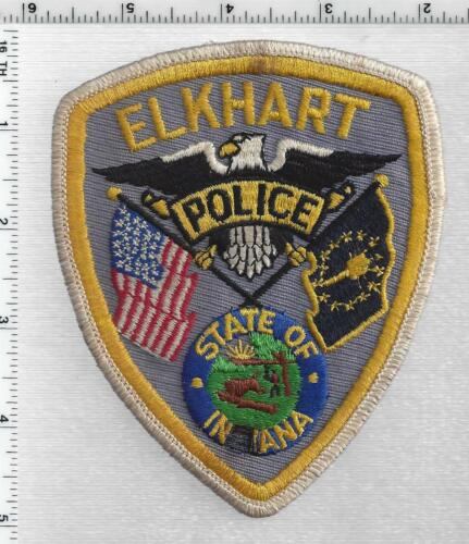 Elkhart Police (Indiana) 1st Issue Shoulder Patch