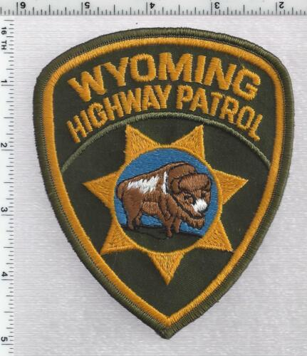 Highway Patrol (Wyoming) 1st Issue Shoulder Patch