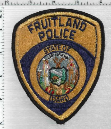 Fruitland Police (Idaho) 1st Issue Shoulder Patch