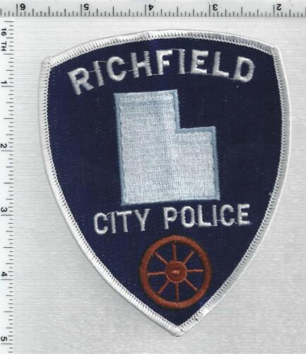 Richfield Police (Utah) 2nd Issue Shoulder Patch