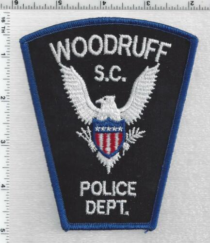 Woodruff Police (South Carolina) 3rd Issue Shoulder Patch