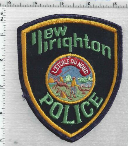 New Brighton Police (Minnesota) 3rd Issue Shoulder Patch