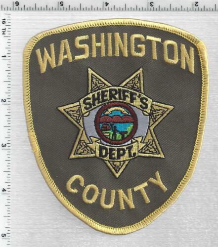 Washington County Sheriff (Nebraska) 2nd Issue Shoulder Patch