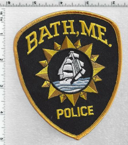 Bath Police (Maine) 5th Issue Shoulder Patch