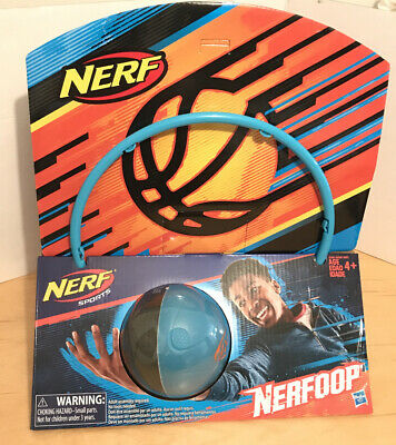 Nerf Blue Nerfoop Mini Basketball Backboard Door Hoop - Brand New