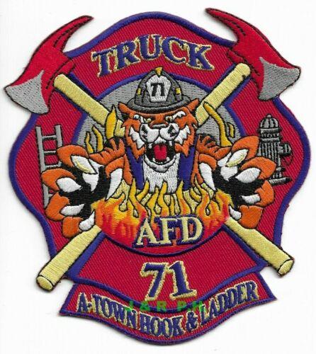 """*NEW* Arlington Truck - 71, TN  """"A-Town Hook-Ladder"""" (4"""" x 4.5"""" size) fire patch"""