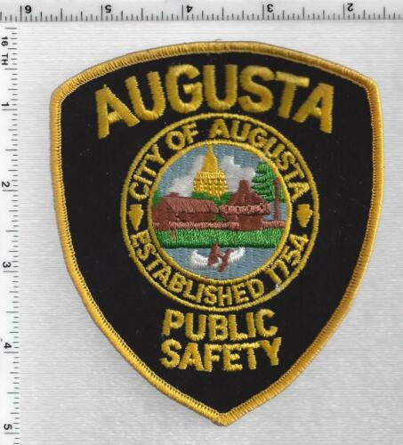 Augusta Public Safety ( Maine) 2nd Issue Shoulder Patch