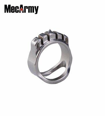 MecArmy SKF3T Titan GITÄ Glühen in der dunklen Ring Halskette ()