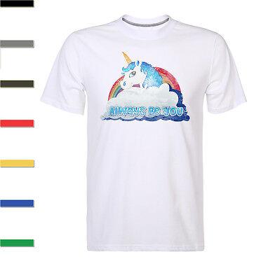 New Central Intelligence Unicorn Always Be You Dwayne Johnson The Rock T Shirt