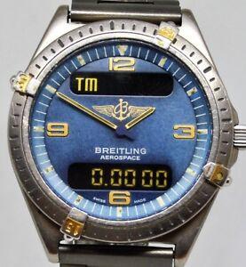 Breitling 80360 Aerospace Bi-Tone Titanium Gents watch