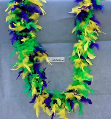 Mardi Gras Chandelle Boas Fluffy Feather Boas 6 Feet 40g Wedding Party Scarf Boa 40g Chandelle Feather Boa