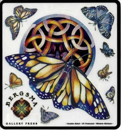 WINGS Butterfly Sticker Car Decal Jody Bergsma butterflies stickers