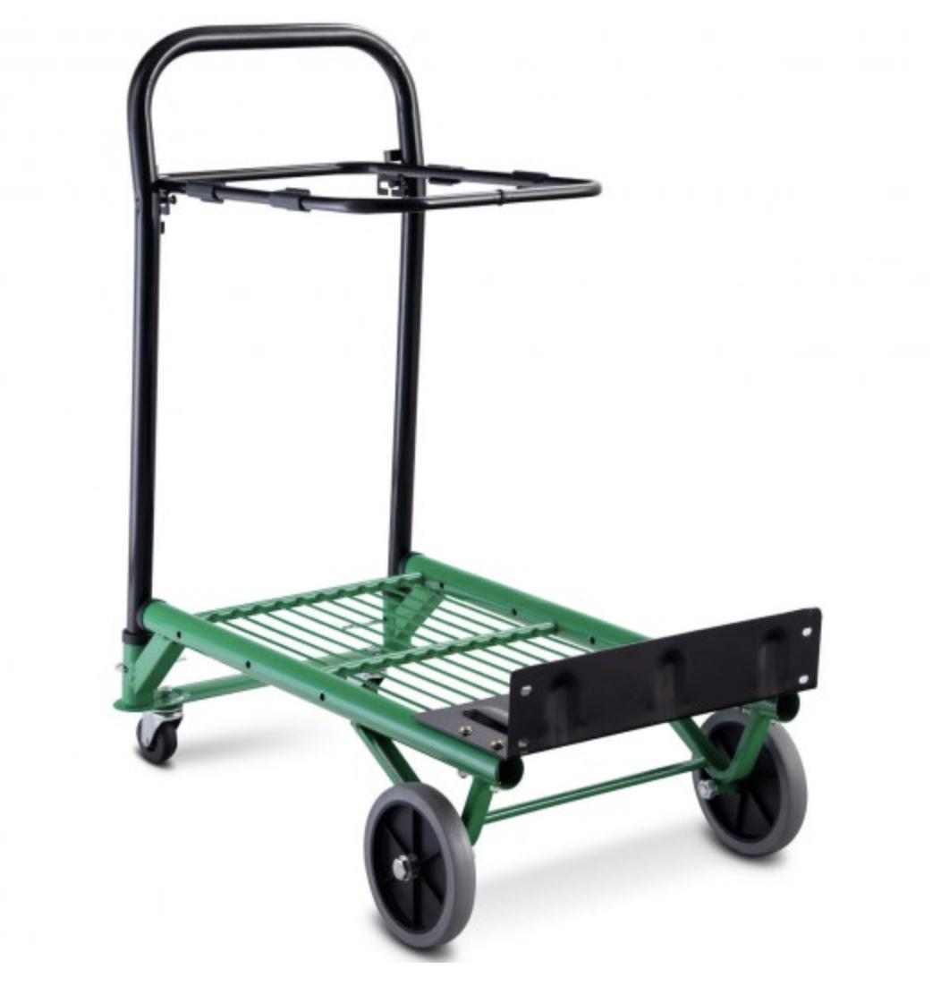 Folding Utility Cart Wagon Heavy Duty Hand/Platform Truck 2-