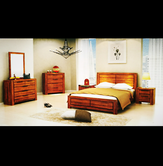 brand new hardwood queen size bed Contact:Chris
