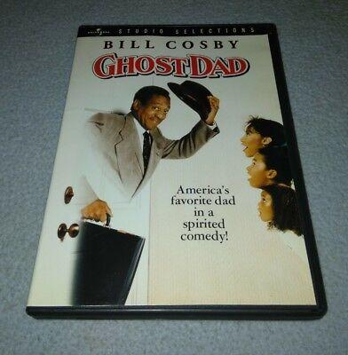 Ghost Dad DVD Bill Cosby 1990 *RARE oop *HALLOWEEN - 1990 Halloween Movies