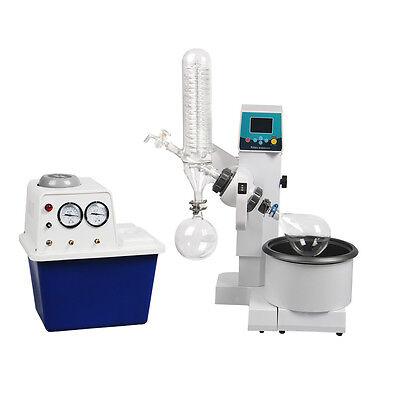2l Rotary Evaporator Motor Lifting Turnkey Package W Water Vacuum Pump